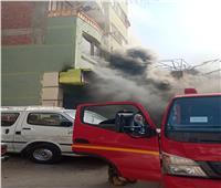 إصابة اثنين في حريق بمحل قطن بالسويس