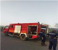 الليثي: السيطرة على حريق شب بجوار خط سكة حديد «طنطا -منوف»