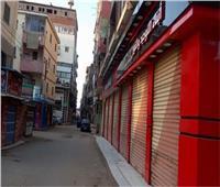 رفع ١٢٢٥ حالة إشغال وإغلاق ٤ مقاهٍ والتحفظ على ٥٧٥ شيشة في الجيزة
