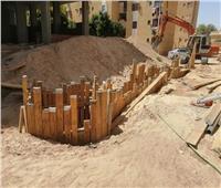 استمرار أعمال إنشاء شبكات الصرف الصحي في ٧ قرى بأسوان | صور