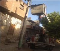 رفع 55 طنًا من المخلفات والقمامة وتركيب 22 كشافًا بالمنيا | صور