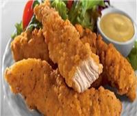 طريقة تحضير دجاج الستربس الحار المقرمش