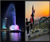 القاهرة تستعيد رونقها بإعادة تشغيل مدفع رمضان ونافورة النيل