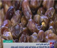 مدير مصنع تمور: «التمر» أساسي في البيوت المصرية   فيديو