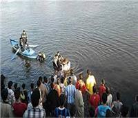 شرطة المسطحات المائية تنقذ أسرة من الغرق في الدقهلية