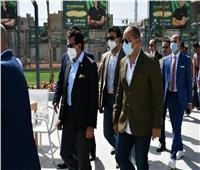 وزير الشباب والرياضة يشهد الافتتاح الجزئي لفرع سيتي كلوب بنها