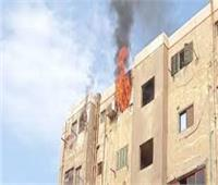 الحماية المدنية تسيطر على حريق داخل شقة تستخدم كورشة للتنجيد بالدقهلية