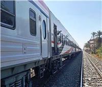«لا إصابات».. انفصال عربيتين بقطار ركاب في بني سويف