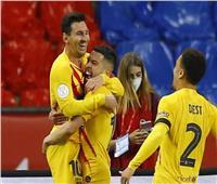 برشلونة يسحق بيلباو برباعية ويتوج بـ «كأس ملك إسبانيا»