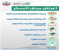 «الصحة»: 7 أعراض تدق ناقوس الخطر للإصابة بالسكر