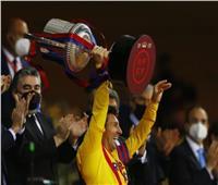 شاهد  أهداف سحق برشلونة لـ«بيلبا» في ليلة التتويج بـ«كأس إسبانيا»