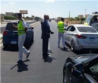 «مرور القليوبية» يواصل حملاته لضبط السيارات المخالفة