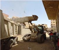 «الجيزة» حملات لرفع مخلفات القمامة بمناطق الزرايب بالعجوزة وكرداسة | صور