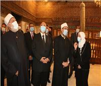 وزير الأوقاف ومحافظ القاهرة يفتتحان مشروع ترميم قبة الإمام الشافعي