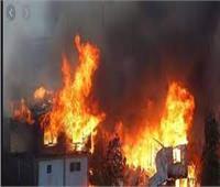 «الأدلة الجنائية» تحدد أسباب حريق مخزن ورق بشرق الإسكندرية