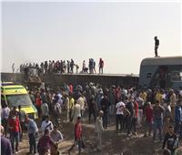 «السكة الحديد» تكشف تفاصيل حادث انقلاب قطار بطوخ| فيديو