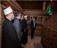صور|  بتكلفة ٢٢ مليون جنيه.. افتتاح قبة ضريح الإمام الشافعي
