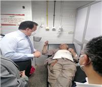 وزير التعليم العالي يتفقد مستشفى بنها الجامعي للاطمئنان على مصابي قطار طوخ