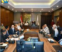 فودة يتابع نسب تنفيذ مشروعات  جنوب سيناء