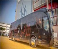 مباراة القمة| حافلة الأهلي تصل لاستاد القاهرة