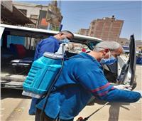 حملات على المحلات ووسائل النقل لمتابعة تطبيق الإجراءات الاحترازية بسوهاج