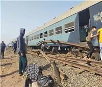 القليوبية: سيارات لتوزيع مياه شرب على المصابين بموقع حادث قطار طوخ
