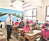 نجاح الاختبار التجريبى لطلاب الثانوية فى اليوم الأول
