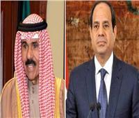 أمير الكويت يبعث برقية إلى السيسي للتعزية في ضحايا قطار طوخ