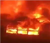 السيطرة على حريق بمزرعة دواجن في دمياط