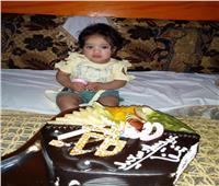 «شفا».. أول مولودة لأم مصابة بـ«كورونا» تحتفل بعيد ميلادها الأول