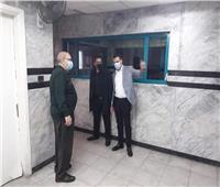 نائب محافظ بورسعيد يتفقد مركز الأشعة المقطعية