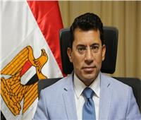 بعد تعرضه لحادث.. وزير الرياضة يباشر عمله خلال ساعات