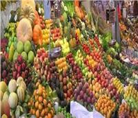 أسعار الفاكهة في سوق العبور في سابع أيام شهر رمضان