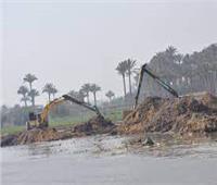 إزالة 223 حالة تعد على نهر النيل ببني سويف