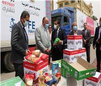 «أبواب الخير» توزيع 144 طن مواد غذائية على المناطق الأكثر احتياجًا