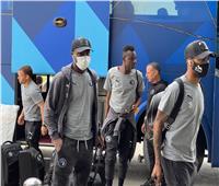 بعثة بيراميدز تصل مطار القاهرة