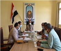 رئيس جامعة الأقصر يعقد إجتماعا مع مجلس شئون التعليم والطلاب