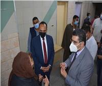 نائب محافظ المنيا يتفقد مستشفى المنيا العام لمتابعة الحالة العامة