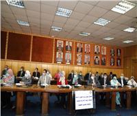 «سعفان» يوجه بضرورة الانتهاء من رقمنة كافة الأعمال الخاصة الوزارة