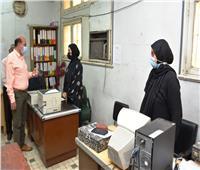 محافظ أسوان يتابع تطبيق الإجراءات الاحترازية بالمنشآت الحكومية