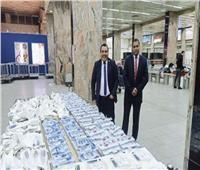 جمارك مطار القاهرة الدولي تضبط تهريب أدوية ومستلزمات طبية