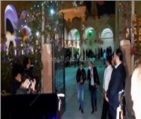 أشرف زكي وإيهاب فهمي يصلان عزاء والدة الفنان أحمد خالد صالح