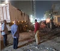 رفع 600 طن مخلفات في حي شرق شبرا الخيمة   صور