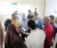 نائب محافظ الجيزة يتفقد مستشفى مبارك المركزي بمنشأة القناطر