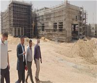 رئيس جهاز «بدر» يتفقد مشروعات الطرق المؤدية لمحطات القطار الكهربائي
