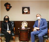 رئيس «قومي المرأة» تستقبل سفير روسيا القاهرة لبحث سبل التعاون