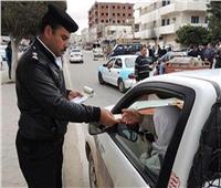 تحرير 2789 مخالفة مرورية بالجيزة خلال 24 ساعة