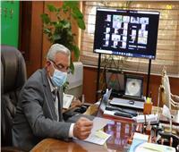 جامعة المنوفية تعقد الاجتماع الشهري للجنة المختبرات «أونلاين»