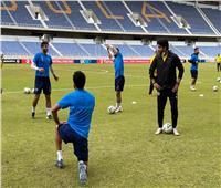 بيراميدز يختتم تدريباته استعدادًا لمواجهة «نكانا»الزامبي