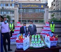 قافلة «أبواب الخير» تصل محافظة الغربية   صور